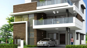 Fortune indra villas 4Bhk flat for sale at Madhapur