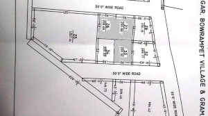 200 SQ.Y PLOTS FOR SALE AT BOWRAMPET NEAR TO PRAGATI NAGAR