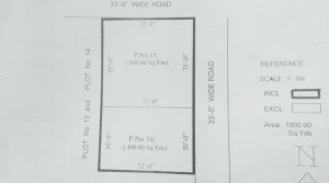 1000 square yards for sale at nagaram